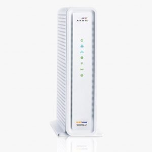 Motorola SBG6782AC Wireless Dual-Band Cable Modem - White