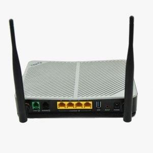 Zyxel Q1000Z VDSL2 Wireless Modem Router Ports