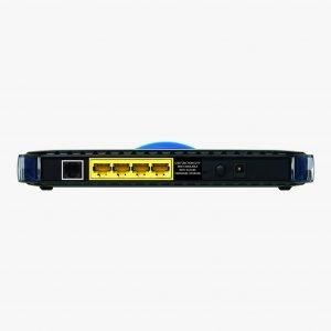 Netgear DGND3300 N300 Wireless Dual Band ADSL2+ Modem Router Ports