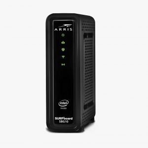 Arris SBG10 DOCSIS 3.0 Dual-Band WiFi Cable Modem