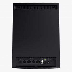 Netgear Nighthawk X6S EX8000 Tri-Band Mesh WiFi Extender Ports