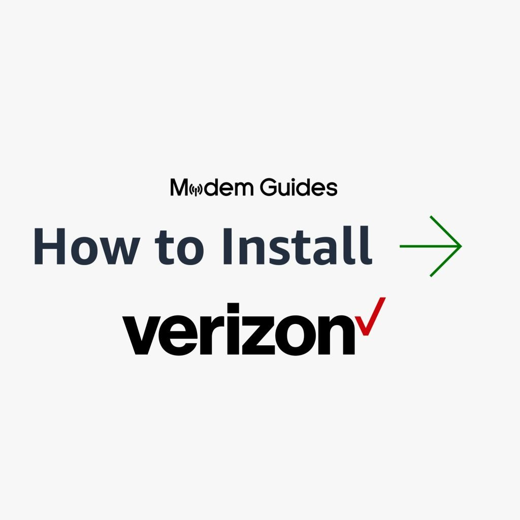 How to Self-Install Your Modem Router with Verizon